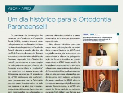 Um dia histórico para a Ortodontia Paranaense